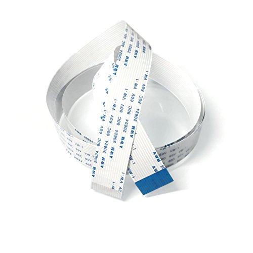 Electreeks® | Raspberry Pi Kamera Kabel & Display Kabel | Flexibles 15 Pin FFC Flachbandkabel (1 m)