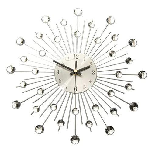 BaoYPP Reloj de Pared Reloj de Pared del Reloj de Pared Alambre...