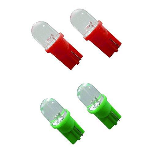 Carpoint 0740017 Spare Bulb T10 5 W Spot 2 Stück rot