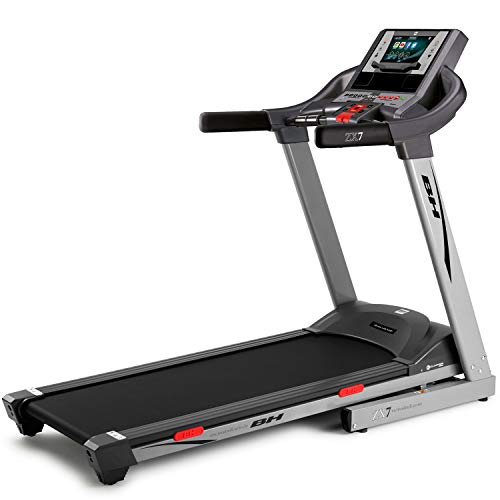 BH Fitness ZX7 TFT G6473TFTRF - Cinta de correr plegable, con pantalla táctil, hasta 18 km/h, 2,75 CV