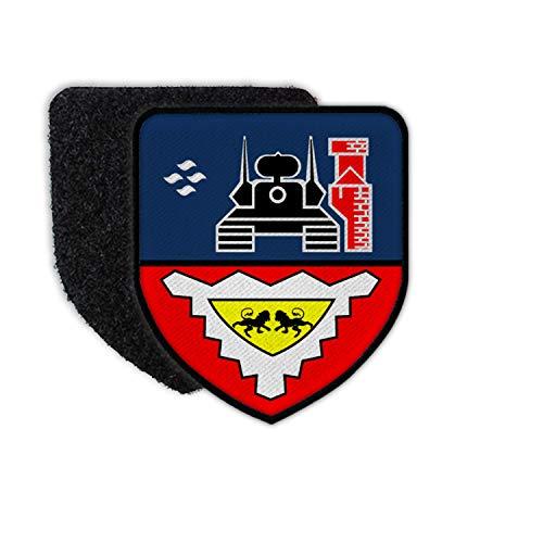 Copytec Patch FlaRgt 6 Flugabwehr Wappen Flausch Gepard Lütjenburg Ostsee #30742