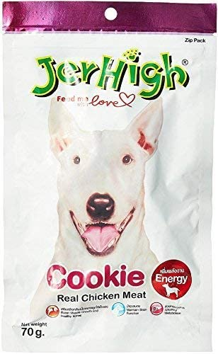 JerHigh Cookies Dog Treat (70gm, Pack of 4)