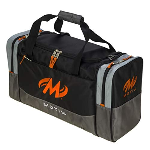 Motiv Shock Double Deluxe Bowlingtasche, Schwarz/Orange