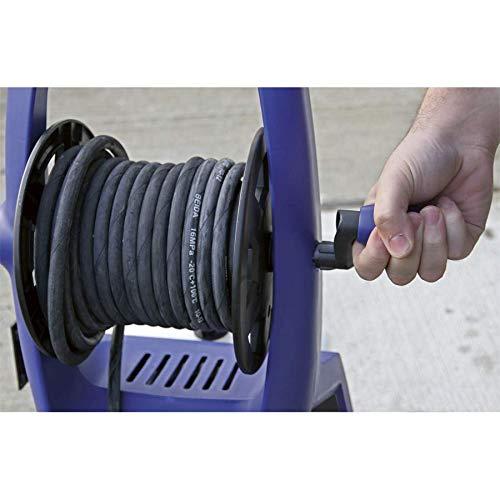 Sealey PW3500 Professional Pressure Washer TSS & Rotablast Nozzle, 140Bar, 230V, Black/Blue