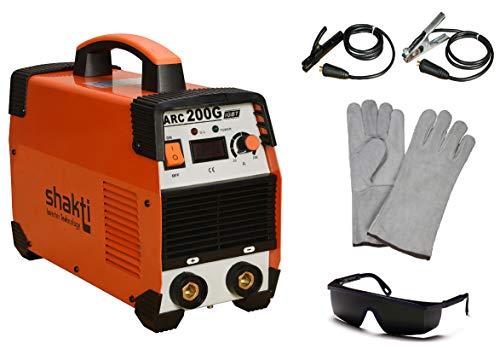 Shakti Technology Inverter Welding Machine-ARC 200G Amps. With All Accessories - 6 Months WARRANTY