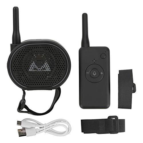 Tbest Altavoz inalámbrico RC megáfono para Drones, megáfono de Altavoz portátil Ligero...