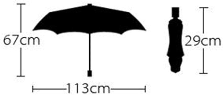 Increase The Umbrella, Three Fold Umbrella Men Commerce Windproof Sun Predection Rain Adult Foldable, Non-Slip Handle Windproof Umbrella, YS