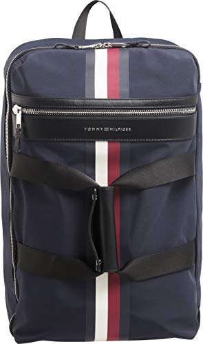 Tommy Hilfiger Elevated Duffle Stripe Duffle Bag One Size Tommy Navy