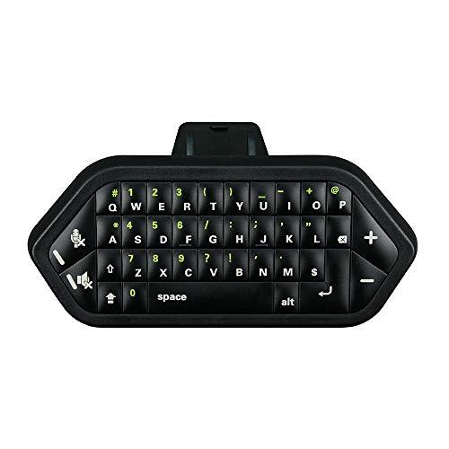DWIN Teclado para juegos con receptor Xbox ONE 2.4G, teclado inalámbrico para chatear y escribir mensajes