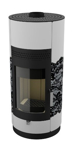 Camino/legno forno Living - Black Lace 2,0 6kW