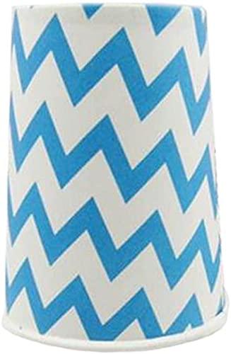 25 onzas de Agua Taza de Papel Taza Azul desechable para Tarta
