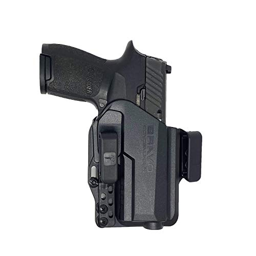 Bravo Concealment Torsion 3.0 IWB Gun Holster for Concealed Carry - Custom fit to Your Gun (Select Pistol Size) - Right Hand