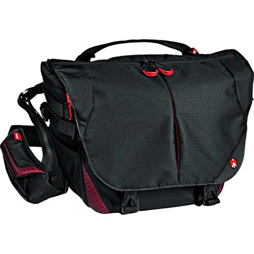 """Manfrotto Bumblebee M-10 PL, Professional Photography Camera Bag, for Mirrorless, Reflex and DSLR Cameras, with Pocket for 13"""" PC, with Internal Divider System and Camera Protection System - Black"""