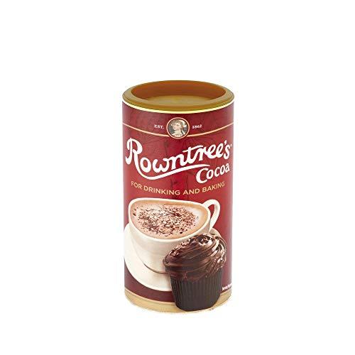 Rowntree's Cacaopoeder voor het bakken – Instant Hot Chocolate Drink, 250 g (Pack van 6)