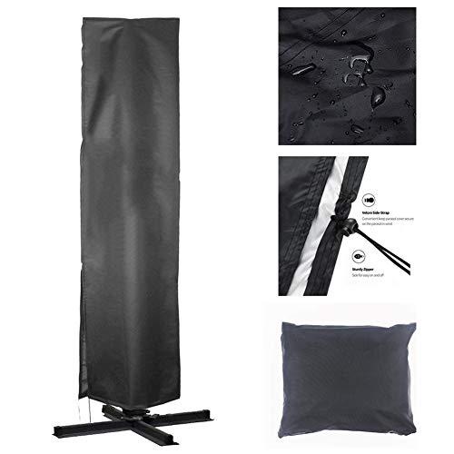 YMYP08 Außenpatio Umbrella Cover, Garten Gartenbaumarkt Regenschirm Beschattung, Außen UV-Schutz wasserdichte Abdeckung Regenschirm