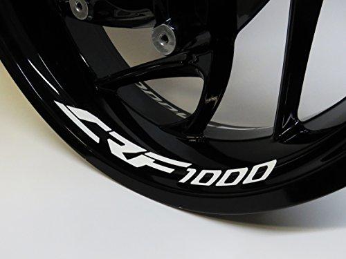 790008de VA Llanta bettauf Adhesivo CRF de 1000Juego de 4Apto para Moto Honda