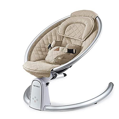 Hot mom Sdraietta per neonati,velocità di oscillazione regolabile,alimentatore...