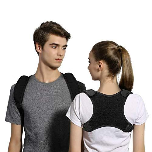 Haltungskorrektur Rücken Schulter verstellbar zur Verbesserung der Körperhaltung und Ausrichtung der Wirbelsäule, Hals und Linderung der Brustschmerzen für Männer, Frauen, Kinder, M