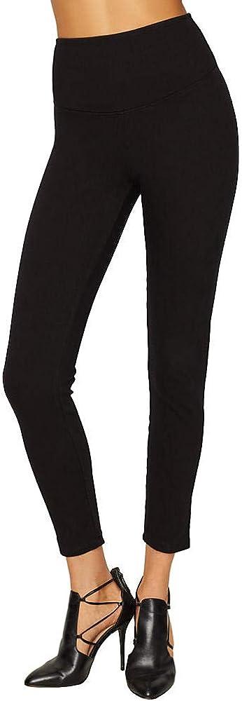 Yummie Signature Waistband Denim Leggings Black XL 28