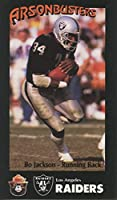 1988 Smokey Bear Raiders Bo Jackson Rookie Card