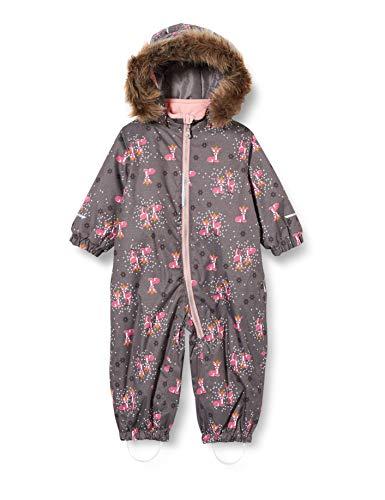 NAME IT Mädchen NMFSNOW08 Suit Bambi FO Schneeanzug, Plum Kitten, 92