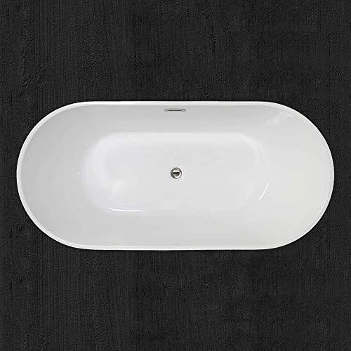 Woodbridge 59 inch Acrylic Freestanding Bathtub