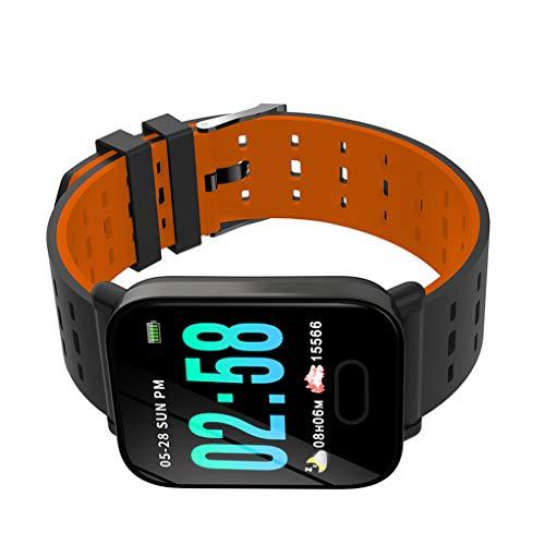 Kleurenscherm Stappenteller Hartslag Bloeddrukmeting Fitness Sport Slimme armband Alarm Intelligente polsband