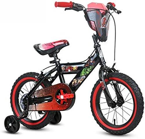 Fahrradfahrradjungenfahrrad der Kinder des variablen Geschwindigkeits des Kindes 14 Zoll perfektes Geschenk (Farbe   schwarz, Größe   14INCH(105CM20CM54CM))