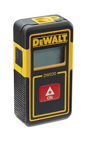 DeWalt DW030PL-XJ DW030PL-XJ-Medidor láser Bolsillo con Alcance de 9m. Solo DISTANCIAS, 0 W, 0 V, Amarillo/Negro, 5X3