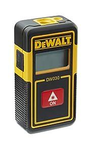 DEWALT DW030PL-XJ - Medidor láser de bolsillo, 9 m, batería de litio integrada
