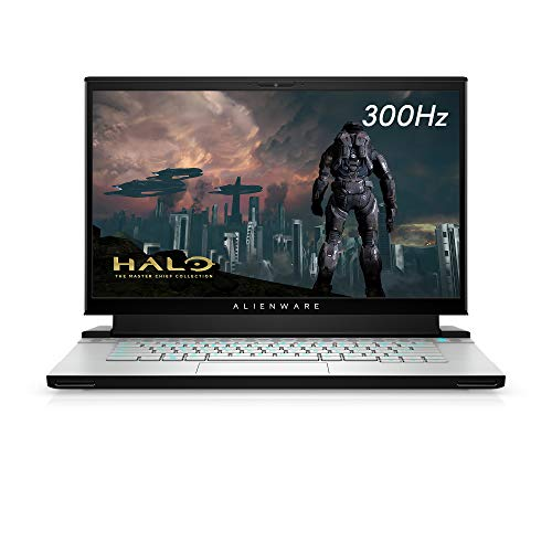 New alienware m15 r3 gaming laptop, 15-inch 300hz 3ms fhd display, intel core i7-10th gen, nvidia geforce rtx 2080 super 8gb gddr6, 1tb ssd, 32gb ram, lunar light