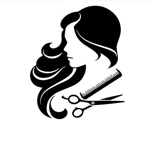 zwyluck Grappige tondeuse-etiket wanddecoratie accessoires voor thuis kinderkamer kinderkamer decoratie wandsticker waterdicht 42 x 50 cm