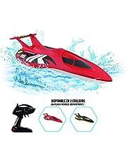 Exost Op afstand bestuurde auto Torpedo op afstand bestuurde boot, rood – speelgoed schaal 1:18