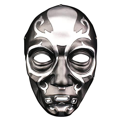 WWWL Mscara de Halloween, mscara Halloween Horror Cosplay Bar Party Masquerade Disfraz Props Resin Mask Casco (Color : Multi-Colored, Size : M)