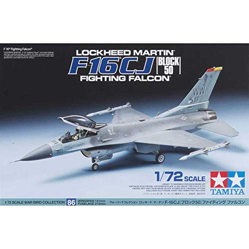 Tamita 60786 - Maqueta de caza Lockheed Martin F-16 CJ Block 50 Fighting Falcon - escala 1/72