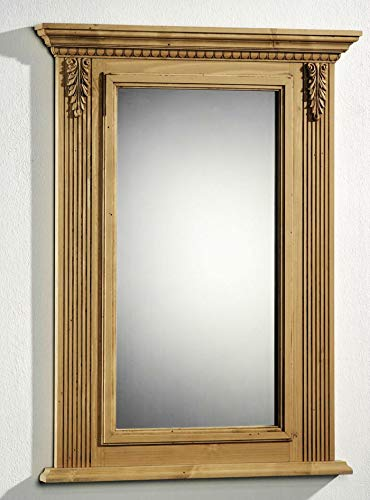 Gradel Spiegel Alina mit Holzrahmen aragrün lackiert