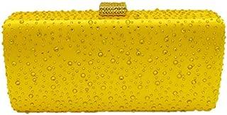 Sparkling Evening Clutch Purse Elegant Envelope Bag Crystal Rhinestone Handbag for Bride Wedding Party Prom
