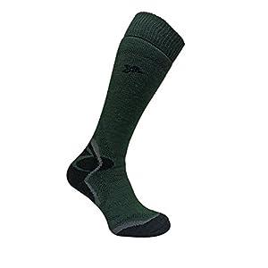 Dr Hunter – Hombre invierno lana termicos merino trabajo largos hasta la rodilla trekking calcetines para botas