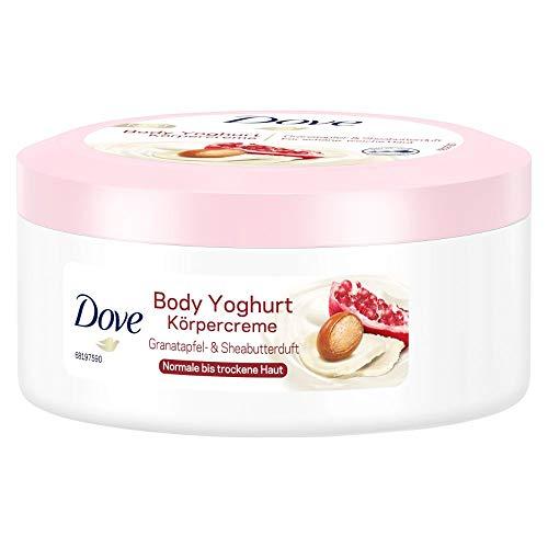 Dove Body Yoghurt Körpercreme mit Granatapfel und Sheabutterduft, 250 ml