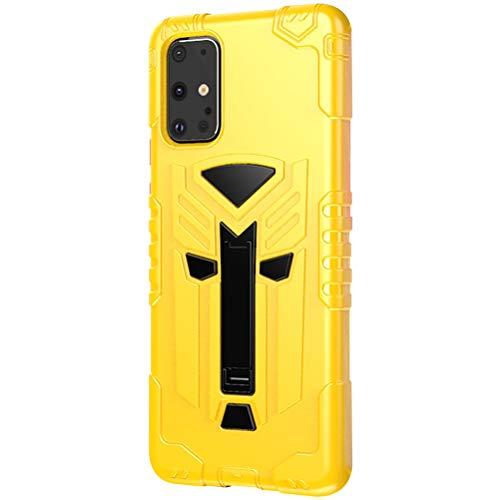 niter - Funda para Samsung Galaxy S20+ (con función atril) Beige amarillo