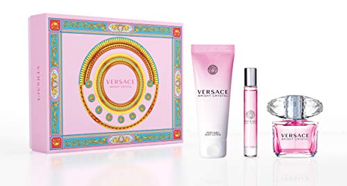 VERSACE BRIGHT CRYSTAL Eau de Toilette 90ml. & BODY LOTION 150ml. + EDT 10ml.