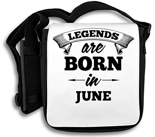 Legends Are Born In June schoudertas