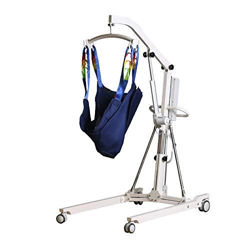 FC-Bed Elektro-Patientenlift Hydraulic Medical Body Lift, kompakte Größe Patientenumbettung Lifter für den Heimgebrauch und Einrichtungen nutzen, 330lb Gewicht Kapazität