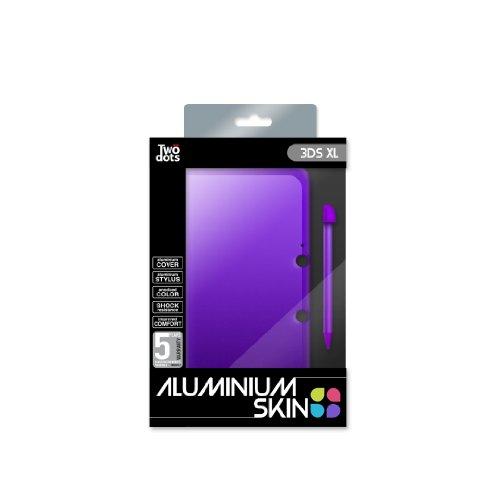 Twodots TDGT0003V funda para consola portátil Nintendo Violeta Aluminio - Fundas para consolas portátiles (Funda, Nintendo, Violeta, Aluminio, 3DS XL)