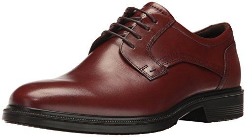 Ecco Lisbon, Zapatos de Cordones Derby Hombre, Marrón (Cognac), 38/39 EU
