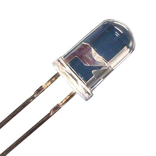 【100個入り】 LED 5mm 青色 砲弾型 14000~16000mcd
