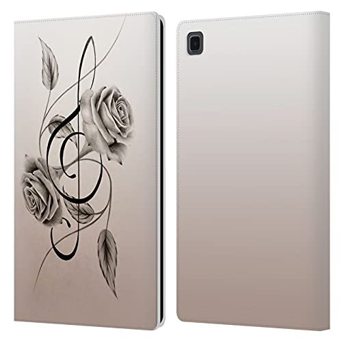 Head Case Designs sous Licence Officielle Graham Bradshaw Clé Illustrations Coque en Cuir à Portefeuille Compatible avec Galaxy Tab A7 10.4 (2020)