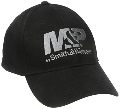 Smith & Wesson M&P by Men's Logo Cap in Black