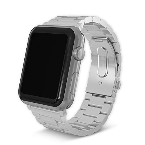 Stainless Steel Band Strap Compatible for iWatch 38mm/40mm 42mm/44mm Series 1 Series 2 Series 3 Series 4 Series 5