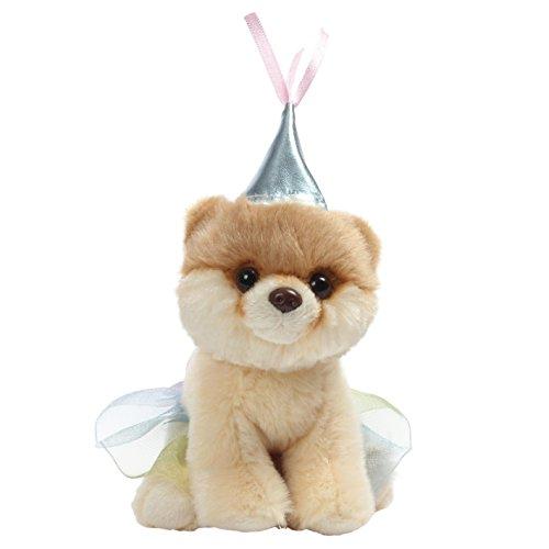 GUND World's Cutest Dog Boo Itty Bitty Boo #046 Princess Stuffed Animal Plush, 5'